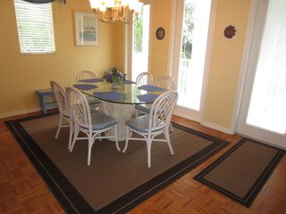 Dining room opposite living room. - Captiva Island house vacation rental photo