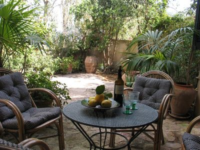 Campanet Center house rental - Terrace for drinks
