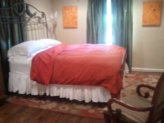 Atlanta house photo - King bed in one of two master suites. Suites are on opposite sides of house.