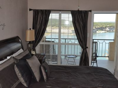 Master Suite/Private Balcony (Lk Travis Deep Water-lake down 45 t,level @ 636ft)