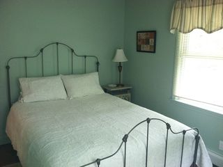 Barnstead house photo - Queen size bed in one of three bedrooms