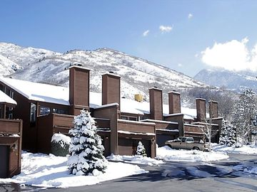Cottonwood Heights townhome rental - Canyon Place -- View of Wasatch Mountains.