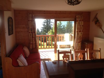 Very nice charming apartment, skis, chalet spirit, 3ch. 6/8 beds