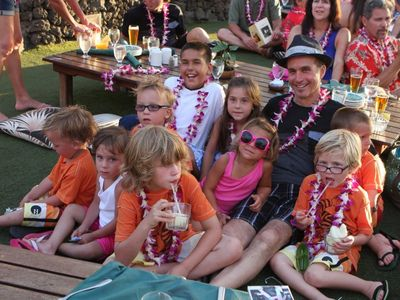 60th birthday celebration at Old Lahaina Luau