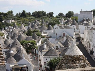 Alberobello with over 1,500 trulli (UNESCO)