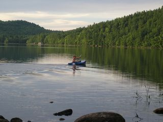 Porter cottage photo - Kayaking on Lake, Mountain in background