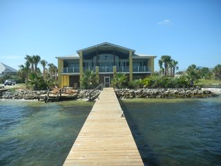 Pensacola Beach house photo - House viewed from sound