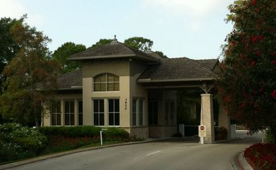 Bonita Bay is gated - this is where you will get a Parking Pass. Friendly folks