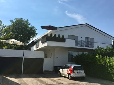 Look in, very centrally located in Oppenheim with a view of the Katharinen church