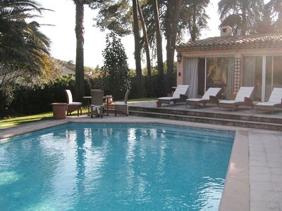 Bright villa with swimming pool and mature garden - walk nearby Golf - Mougins