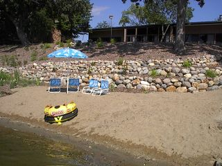 Glenwood cabin photo - Private beach