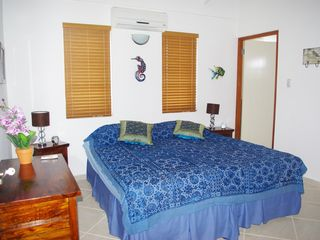 Bonaire villa photo - The master bedroom !