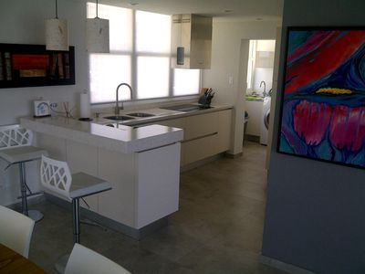 Condado apartment rental - Full Kitchen view