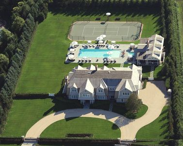 Front Aerial of The Estate