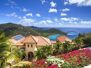 Cruz Bay villa photo - Stunning expansive views from, Eco Serendib vill and Spa. breeze & color.