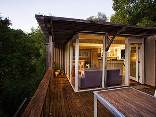 Mill Valley house photo - Deck at Sunset