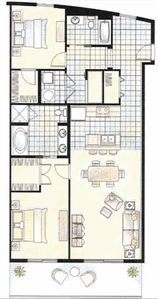 Great Floor Plan for Maximum Space and Sun