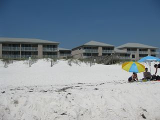 Pensacola Beach condo photo - View of Starboard Village from the ocean.