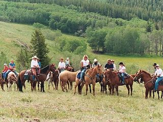 Whitefish condo photo - Horseback riding in Whitefish