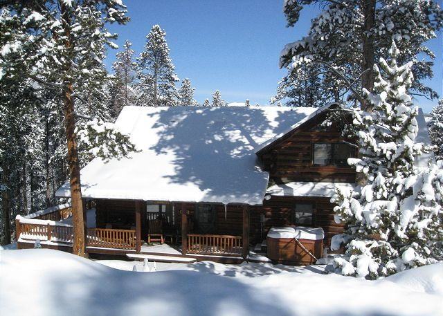 Log Cabin Heaven On Top Of Peak 7 Breckenridge Vrbo