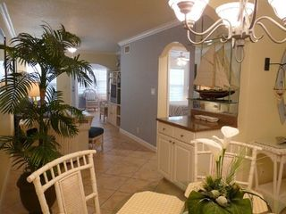 Indian Shores condo photo - Tropical decor in main salon and dining room