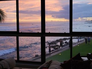 Poipu condo photo - ANOTHER SPECTACULAR OVER THE WATER SUNSET FROM YOUR LIVING ROOM... ROMANTIC!