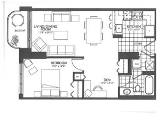 Ottawa condo photo - Floor plan