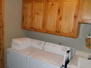 Sunriver house photo - On site laundry