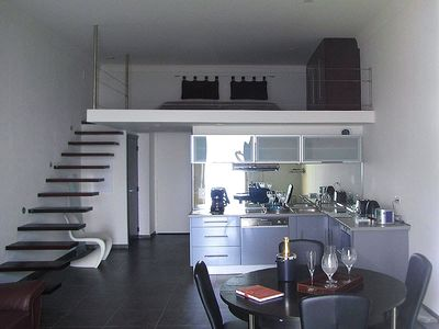 Kitchen and Mezzanine