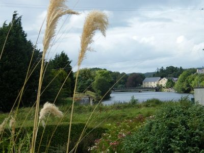 County Fermanagh cottage rental - View to the river from the garden