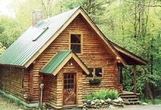 Woodstock cabin photo - Darling log cabin awaits your arrival