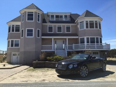 Spectacular New Oceanfront Hamptons Beach House - Dune Road, Westhampton Beach