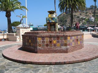 Catalina Island condo photo - Fountain in Downtown Avalon