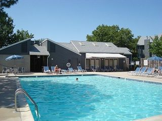 Rehoboth Beach villa photo - Jump in! Our resort's main pool is across the street past the tennis courts.