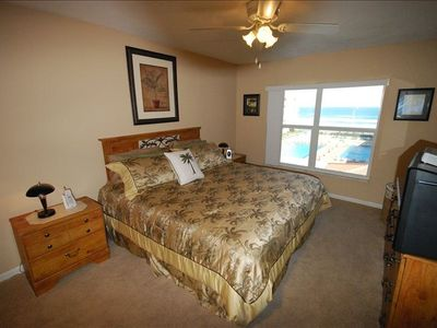Inviting Master Bedroom With A Select Comfort  King Bed!