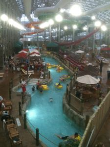 Flow down the lazy river after skiing & riding!!