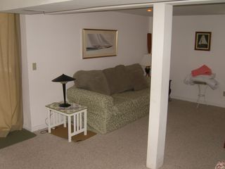 Newfound Lake house photo - Finished Basement/ Familyroom with cable TV