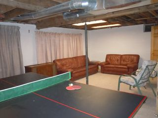 Crystal Mountain, Thompsonville cottage photo - Recreation Room in basement