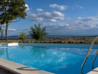 Beautiful gite for sole occupancy 'adults only' with pool and stunning views