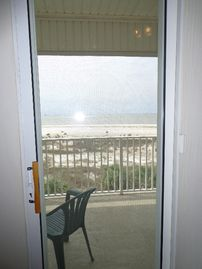 Dauphin Island condo rental - View from Master bedroom