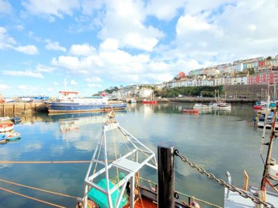 Brixham harbour nearby
