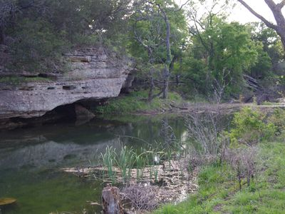 The serene beauty of a hidden treasure with Texas Hill Country character!