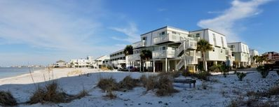 Boardwalk Building F and Front of Unit F3 (4th unit back on right side of photo)