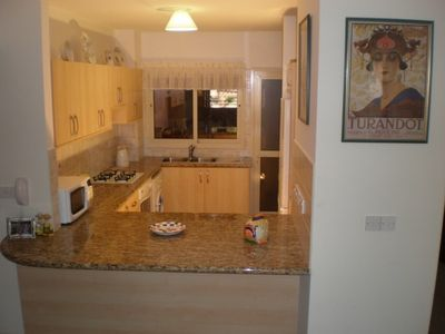 Limassol City apartment rental - Fully equipped kitchen