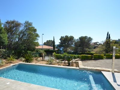 AGAY VILLA 5 ROOMS TERRACE AND SWIMMING POOL SEA FACE