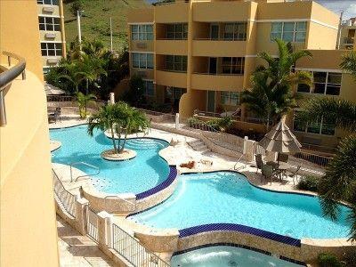 La Parguera apartment rental - beautiful pools just in front of apartment