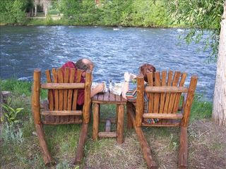 Pagosa Springs cabin photo - Riverfront Relaxation