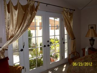Thousand Palms house photo - French doors to lovely, private back yard. New fence surrounds property.
