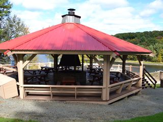 Lake Wallenpaupack property rental photo - Firepit by the lake Wallenpaupack
