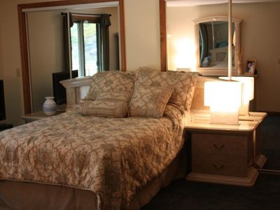 Locust Lake house rental - Master Bedroom